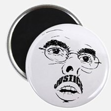 Mustache of Justice Magnet