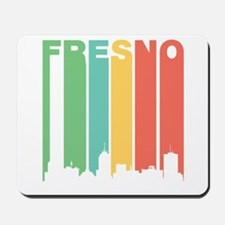 Vintage Fresno Cityscape Mousepad