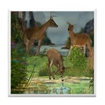 As the Deer Tile Coaster