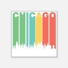 Vintage Chicago Cityscape Sticker
