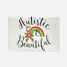 Autistic Rectangle Magnet (10 pack)
