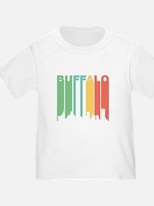 Vintage Buffalo Cityscape T-Shirt