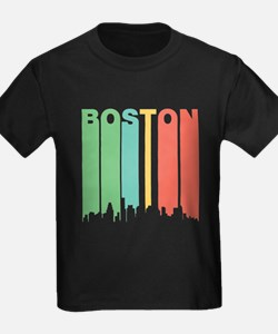 Vintage Boston Cityscape T-Shirt
