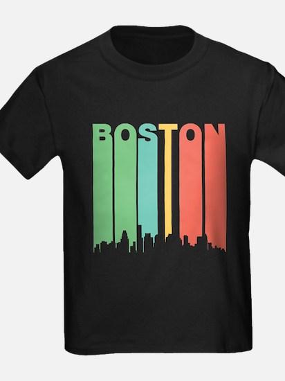 Vintage Boston Cityscape T-Shirt