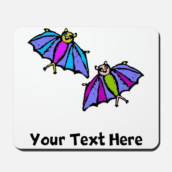 Cartoon Bats (Custom) Mousepad