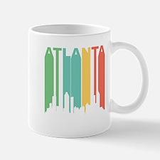 Vintage Atlanta Cityscape Mugs