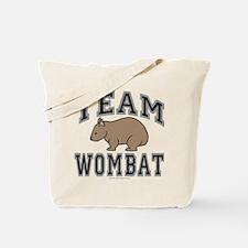 Team Wombat V Tote Bag