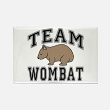 Team Wombat V Rectangle Refrigerator Magnet