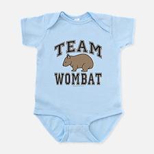 Team Wombat V Infant Bodysuit