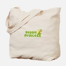 Veggie Princess Tote Bag