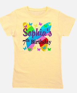 HAPPY 7TH Girl's Tee