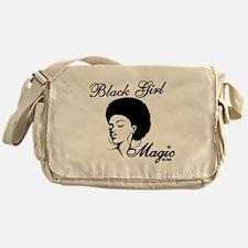 Black Girl Magic Messenger Bag