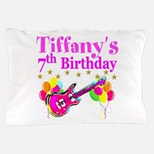 HAPPY 7TH Pillow Case