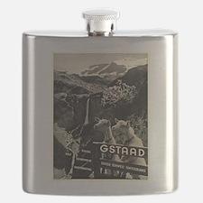 Vintage poster - Switzerland Flask