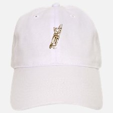Stretchy Kitty Baseball Baseball Cap