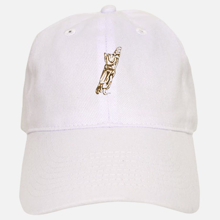 Stretchy Kitty Baseball Baseball Cap