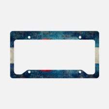 (B) Colorado State Flag License Plate Holder