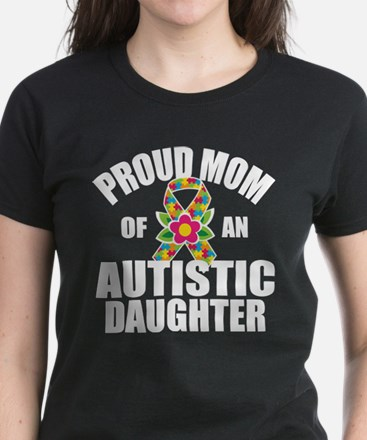 Autism Mom Women's Dark T-Shirt