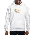 Peanut Butter Princess Hooded Sweatshirt
