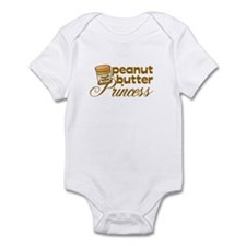 Peanut Butter Princess Infant Bodysuit