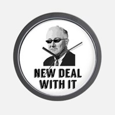 New Deal With It Wall Clock