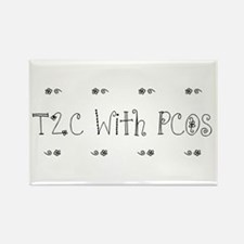 T2C With PCOS Rectangle Magnet