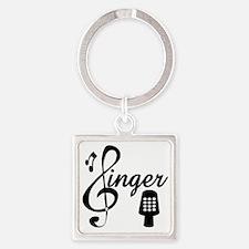Funny Lyricist Square Keychain