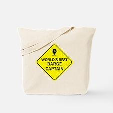Barge Captain  Tote Bag