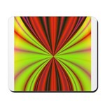 Red Drapery Fractal Mousepad