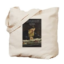 Leo Tolstoy: True Philosophy Tote Bag