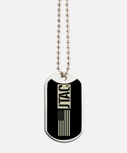 U.S. Air Force: JTAC (Black Flag) Dog Tags