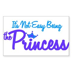 Being the Princess Rectangle Decal