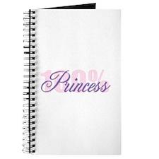 100% Princess Journal
