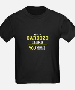 It's A CARDOZO thing, you wouldn't underst T-Shirt