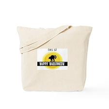1st Halloween: Eva Tote Bag