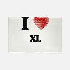 I love Xl Magnets