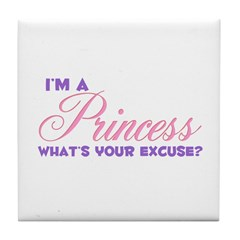 What's your excuse Tile Coaster