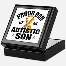 Autism Dad Keepsake Box