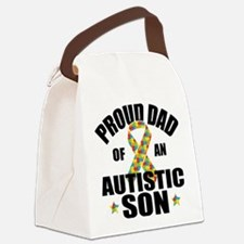Autism Dad Canvas Lunch Bag