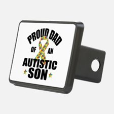 Autism Dad Hitch Cover