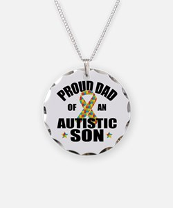 Autism Dad Necklace