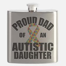 Autism Dad Flask