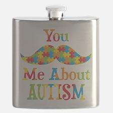Mustache Autism Flask