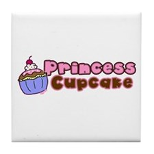 Princess Cupcake Tile Coaster