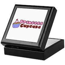 Princess Cupcake Keepsake Box