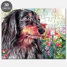 Dachshund Painting Puzzle