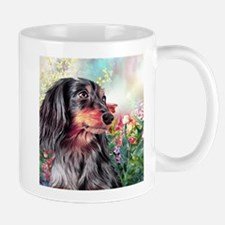 Dachshund Painting Mugs