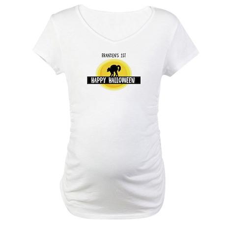 1st Halloween: Branden Maternity T-Shirt