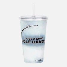 Pole Dance Acrylic Double-wall Tumbler
