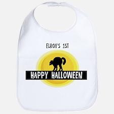 1st Halloween: Elroy Bib